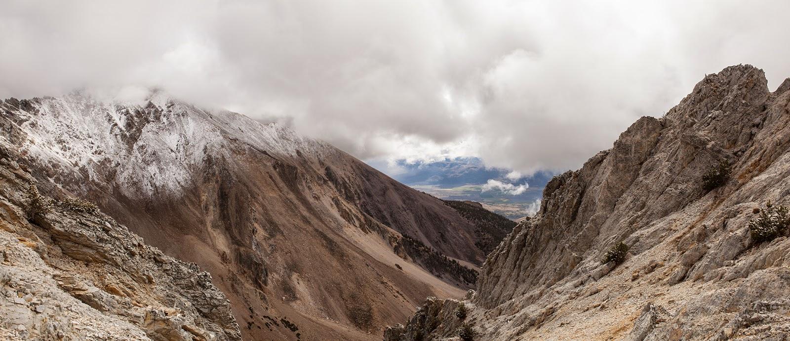Climbing Mount Idaho, Idaho