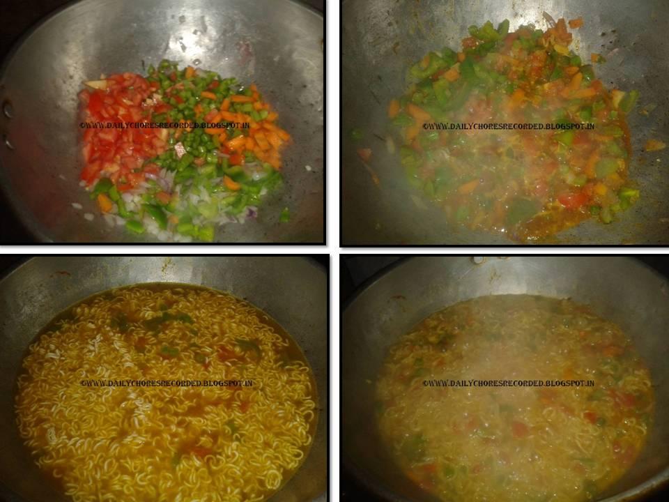 Instant Noodles (Mixed Veg)