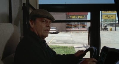Jack Nicholson on the road in Alexander Payne's ABOUT SCHMIDT