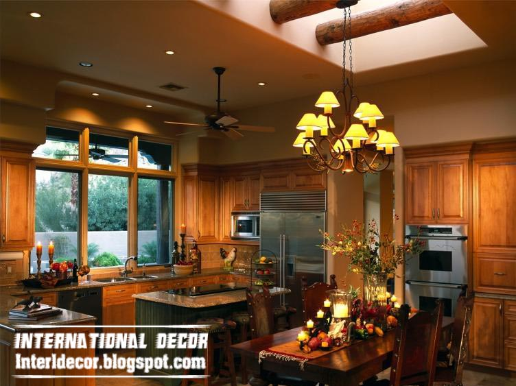 Luxury Kitchen Ceiling Rustic Design For Classic Kitchens