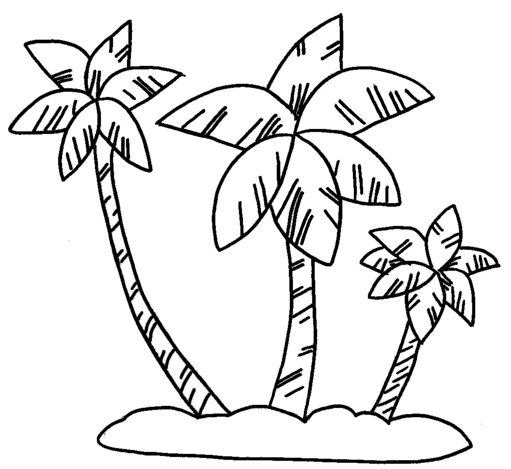 Dibujos Para Colorear Palmeras Coco ~ Ideas Creativas Sobre Colorear
