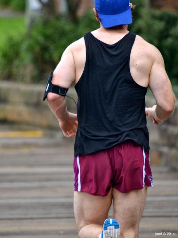 jogging by clark park