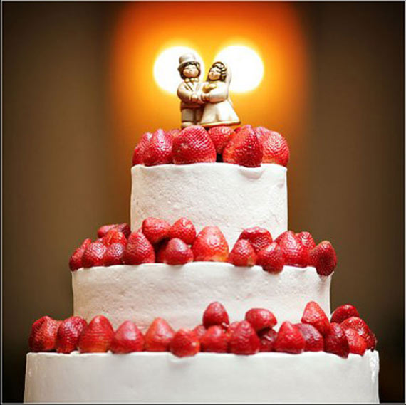 wedding cake decoration Photo