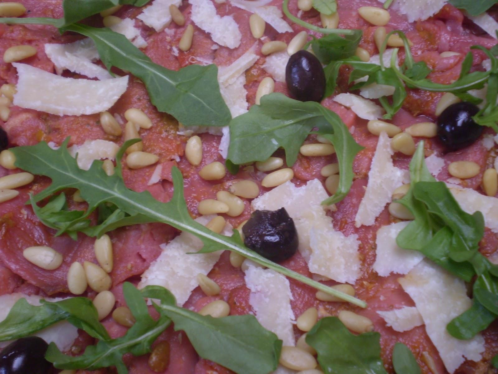 Carpaccio de boeuf à l'italienne