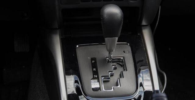 Hộp số INVECS trên xe Mitsubishi Triton