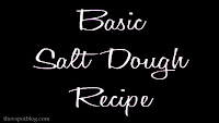 Basic salt dough recipe.