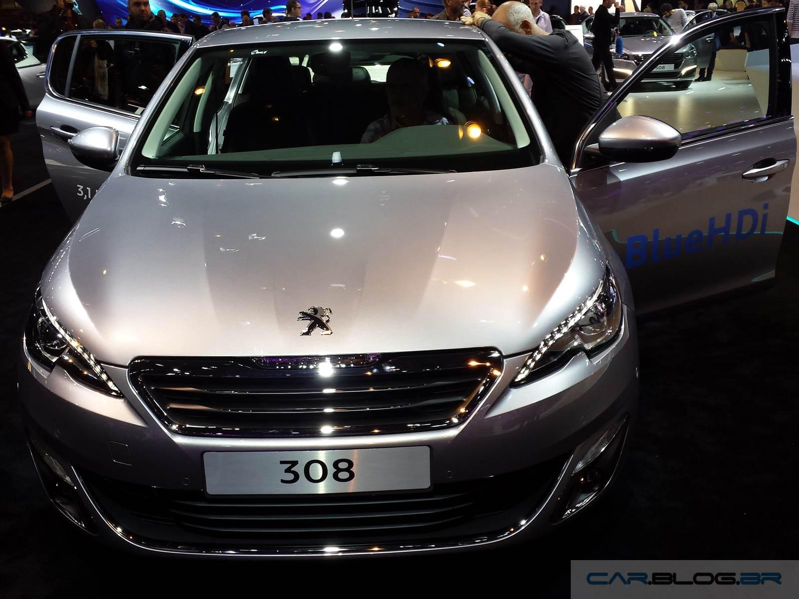 Jornal Ponto Com  Novo Gera U00e7 U00e3o Do Peugeot 308 Chega Ao