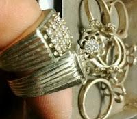 pemilihan ikatan cincin batu akik