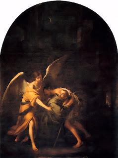 San Juan de Dios con un enfermo 1670-72
