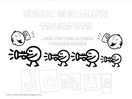 Joshua Jericho Coloring Pages Printable