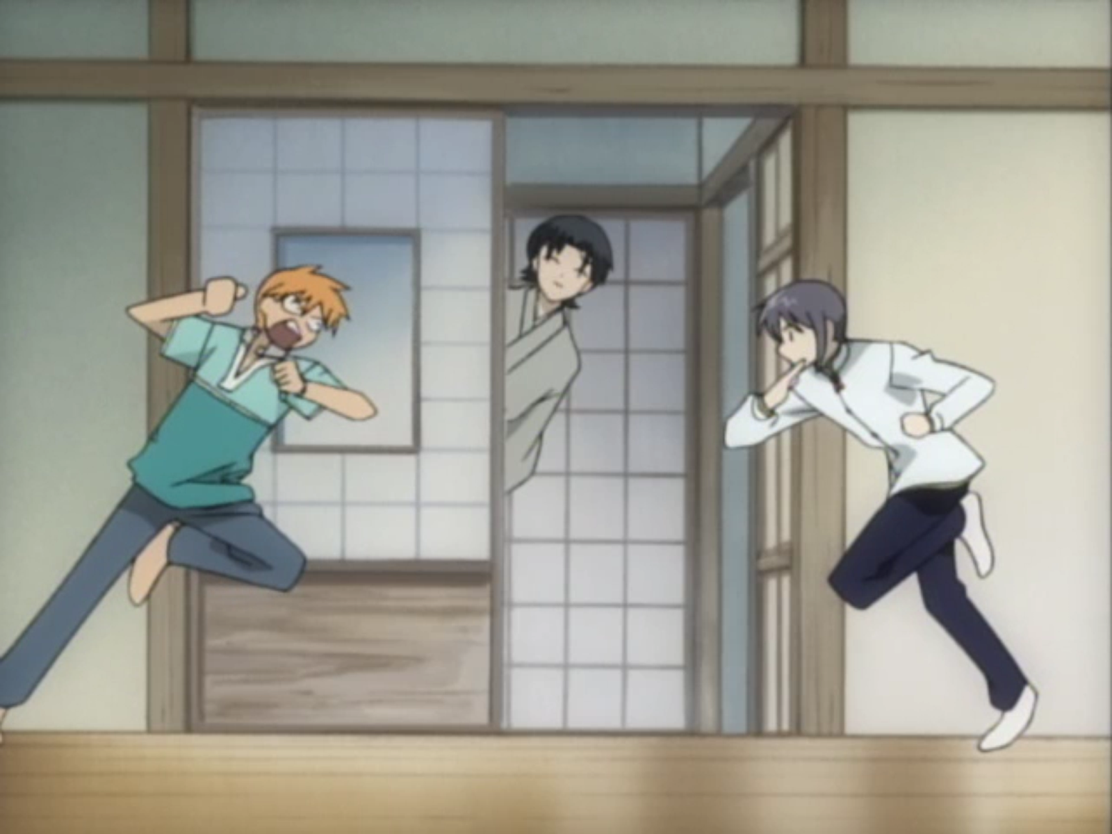 Fruits Basket Kyo And Yuki Fighting Bara Lotus Garden: Fru...
