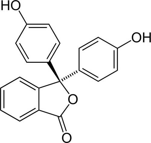 Phenolphthalein Structure