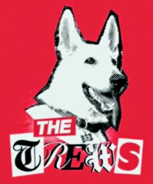 Russell Brand: Trews - Lone German Shepherd.
