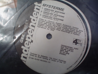 Mysterme & DJ 20/20– Unsolved Mysterme (1992, 12'') – 192 kb/s