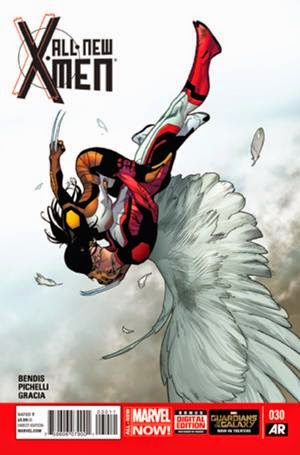 All-New X-Men Cover 30 Brian Michael Bendis Sara Pichelli Marte Gracia Angel and X-23