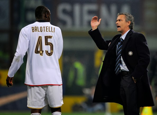 Mario Balotelli DanJose Mourinho