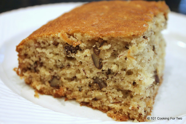 Old Fashion Banana Nut Cake from 101 Cooking For Two