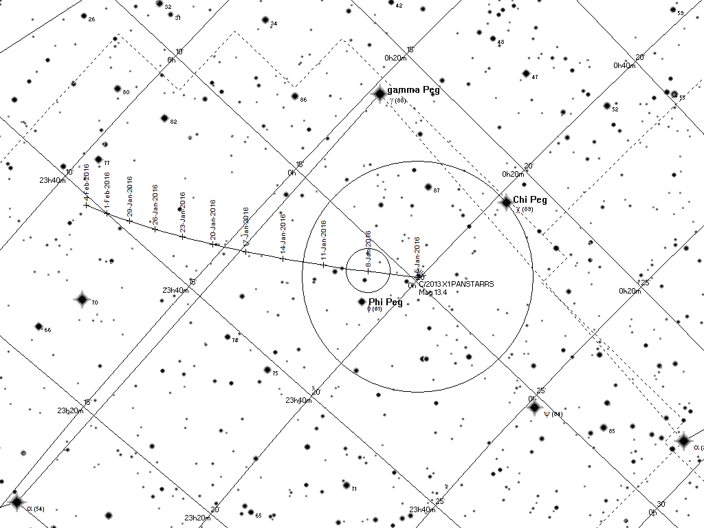 Black and white printable map suitable for use with binoculars or a telescope the stars gamma nd chi pegasi indicated on the chart above are shown for