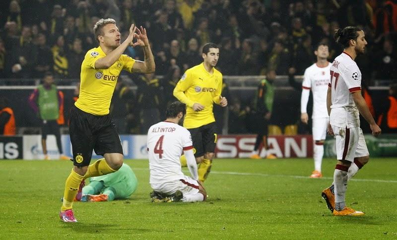 Liga Champions : Dortmund vs Galatasaray 4-1