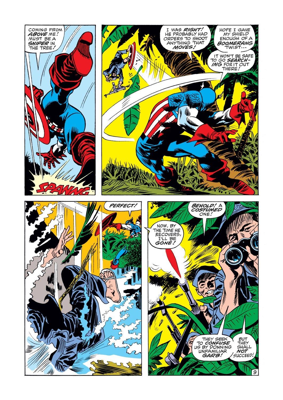 Captain America (1968) Issue #125 #39 - English 10