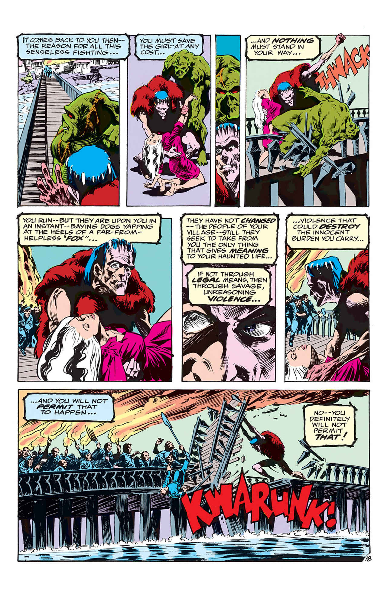 Swamp Thing (1972) Issue #3 #3 - English 19
