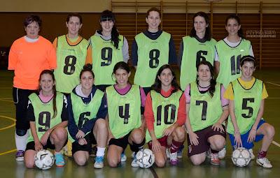 foto equipo fútbol sala femenino