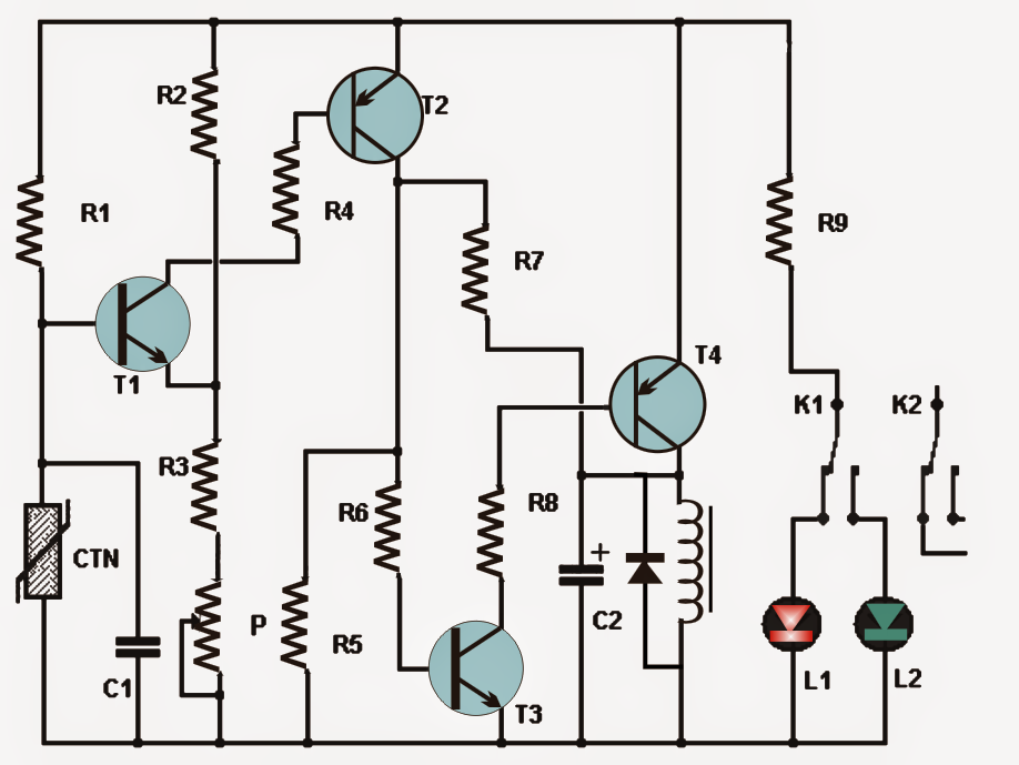 How to Make a Simple Thermostat Circuit Using Transistors