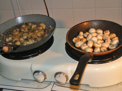 Cassave en champignons