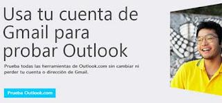 abrir correo Outlook con gmail