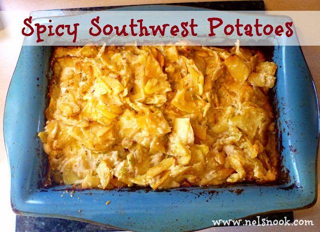 Spicy Southwest Potatoes