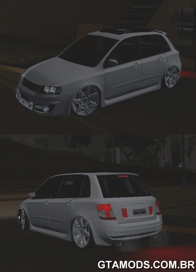 Fiat Stilo + Roda Bentley 20