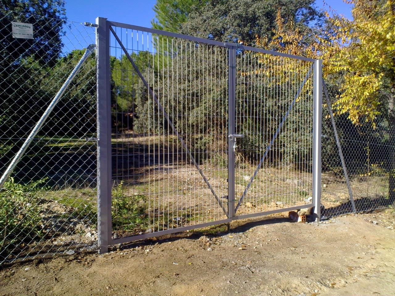 Cercados gp precios for Puertas baratas segunda mano
