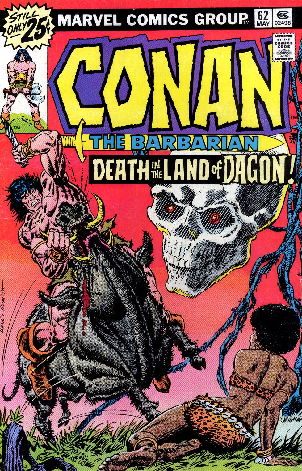 Conan the Barbarian (1970) Issue #62 #74 - English 1