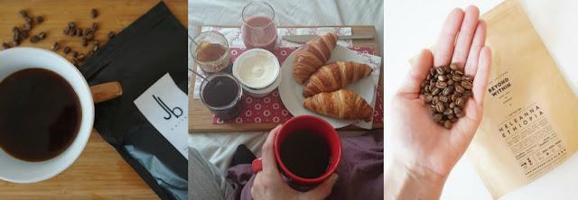 Káva z pražírny JB Kaffee, snídaně v posteli, káva z pražírny Beyond Within