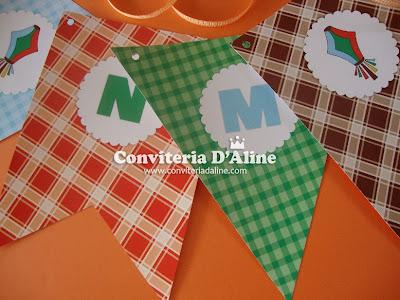 bandeirolas festa junina decoração