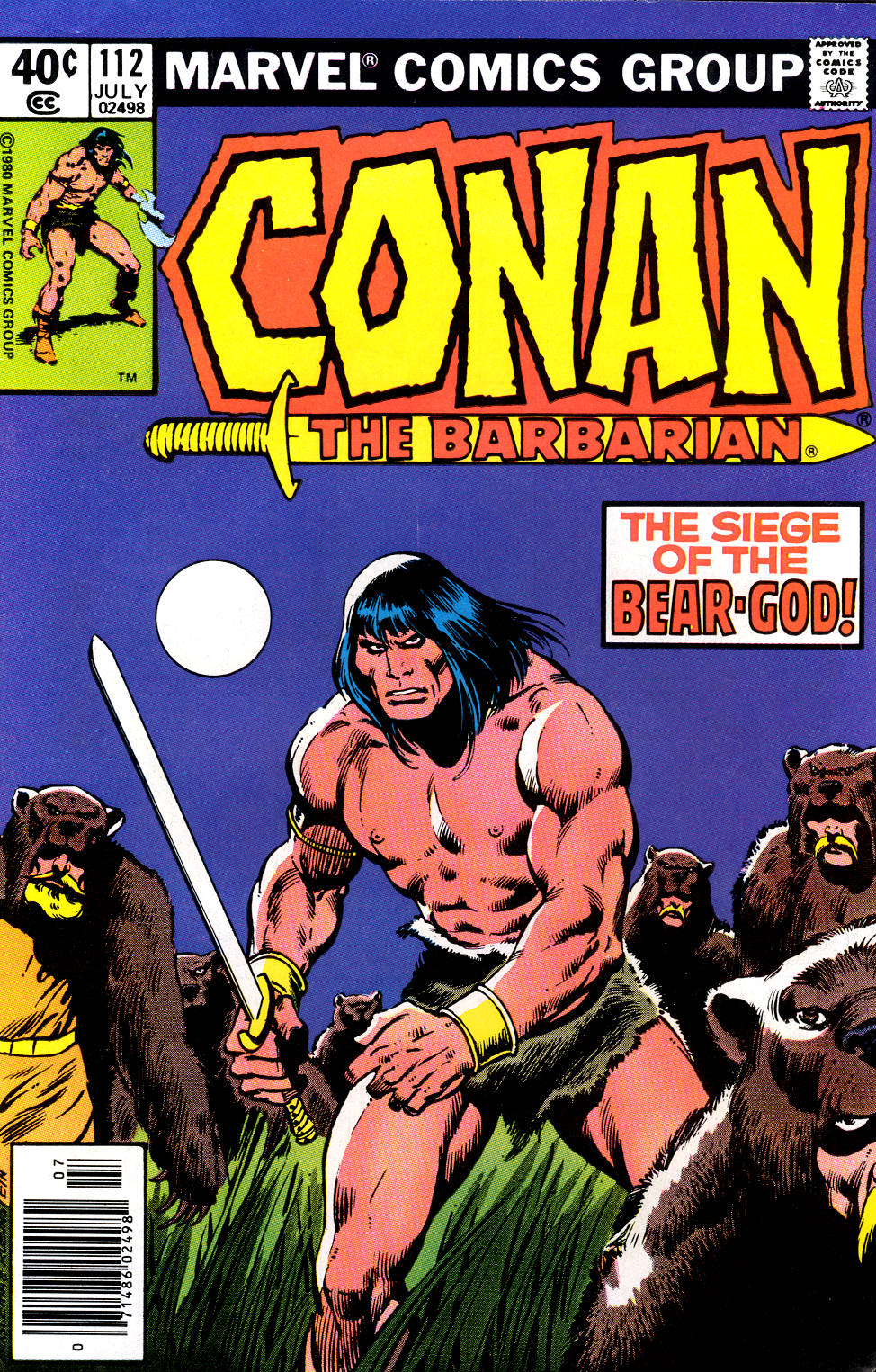 Conan the Barbarian (1970) Issue #112 #124 - English 1