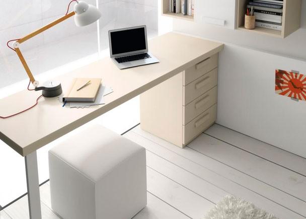 Mesas de estudio a medida escritorios - Habitaciones de estudio ...