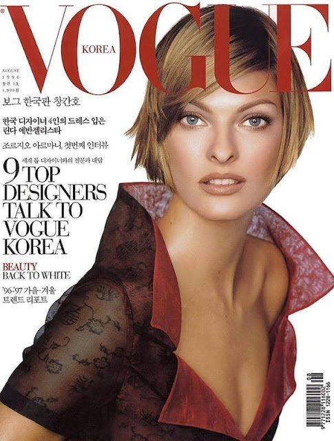 Fashion Model @ Linda Evangelista - Vogue Korea, July 2015