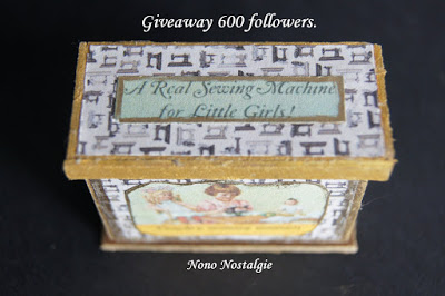 Giveaway  600 followers de Nono Nostalgie