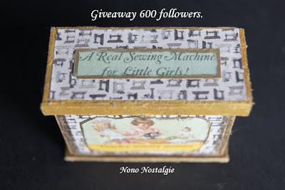 Giveaway  600 followers de Nono Nostalgie