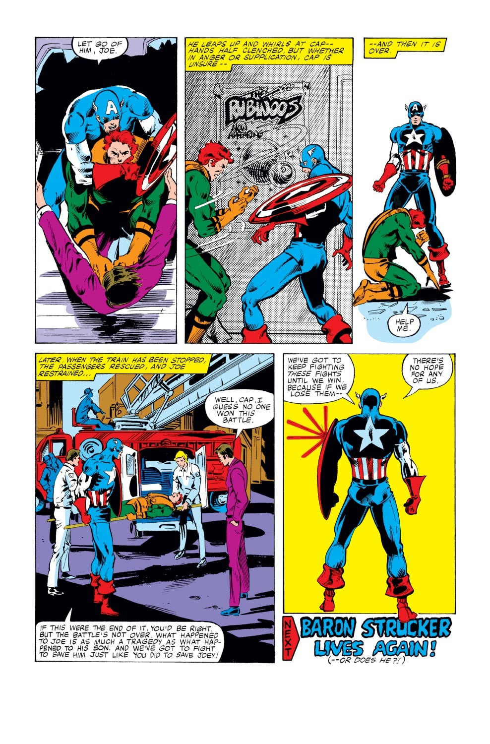 Captain America (1968) Issue #246 #161 - English 18
