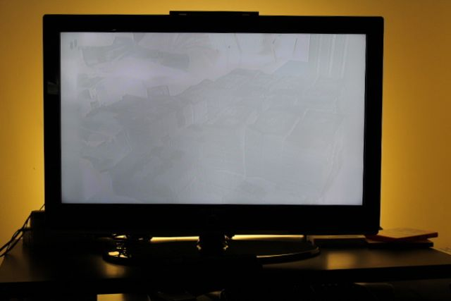 ghost and shadow issues on SAMSUNG LCD TV