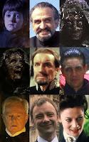 Nove rostos, uma insanidade.