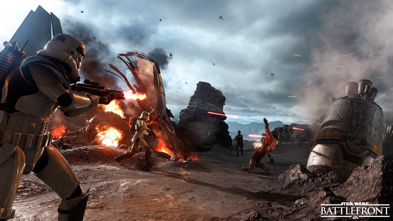 Versão Beta de Star Wars Battlefront chegará dia 8 de outubro