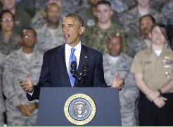 Obama garantiza a los soldados de EE UU que no pisarán Irak