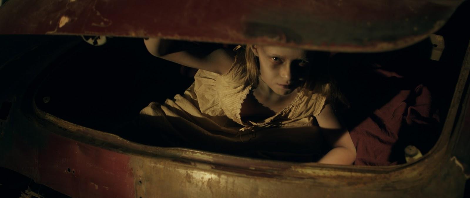 Ghost girl in Trunk
