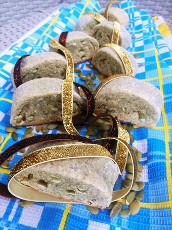 biscotti con semi di zucca senza uova