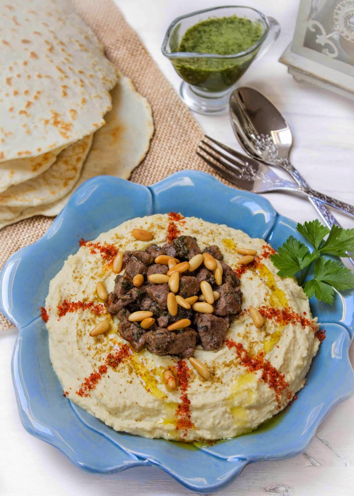 hummus-árabe-pan-yogur-rápido
