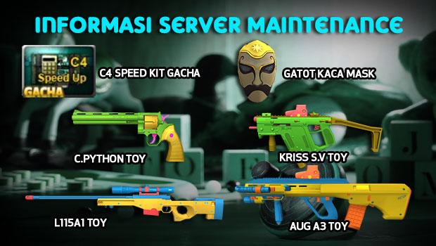 Point Blank Indonesia Hadirkan Senjata Seri Toy, C4 Speed Kit Gacha dan Event Menarik Lainnya