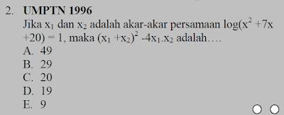 matematika logaritma
